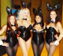 Playboy Bunnies and Referees Greet Technology X For Their First CES Appearance