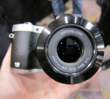 Samsung Displays 3D Photo and Video Capable NX300 at CES Las Vegas 2013