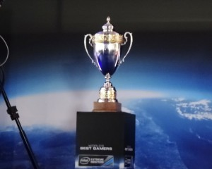 Intel Extreme Masters World Championship Trophy