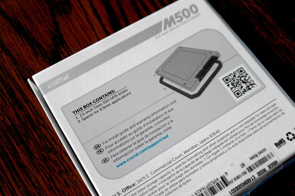 Crucial M500 480GB SSD