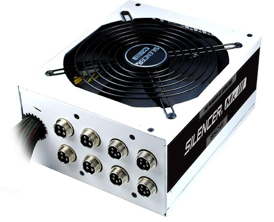 OCZ pc power & cooling silencer mk iii 3 PSU power supply 850w watts