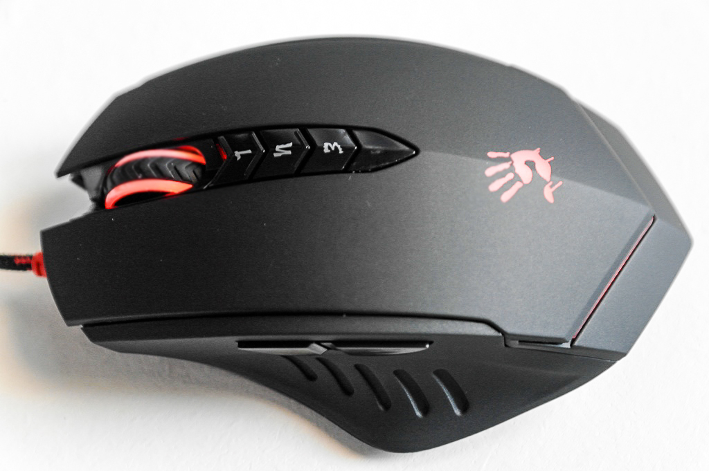 A4Tech Bloody Gun3 Headshot V8 Gaming Mouse