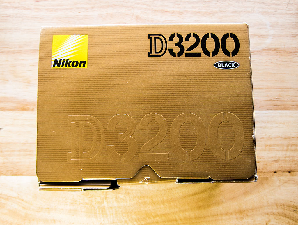 nikon d3200 dslr camera box front