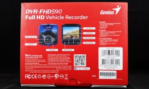 Genius DVR-FHD590 Exterior Bottom