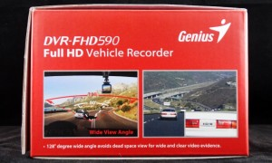 Genius DVR-FHD590 Exterior End
