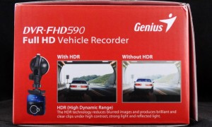 Genius DVR-FHD590 Exterior End 2