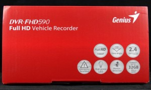 Genius DVR-FHD590 Side Literature