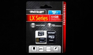 Patriot LX 64GB microSD Card