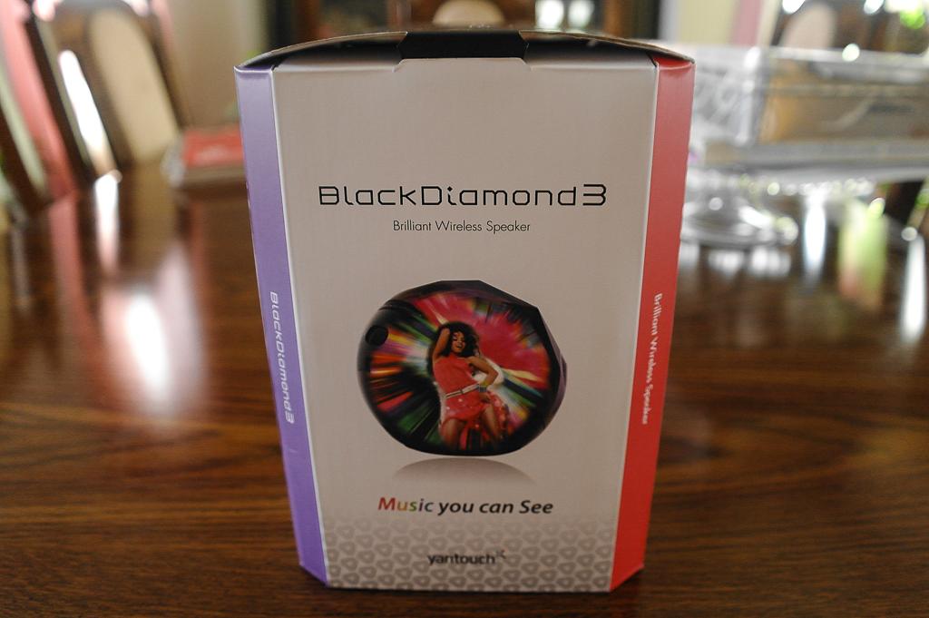 yantouch black diamond 3 bd3 bluetooth 2.1 wireless speakers