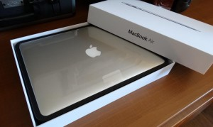 2013 MacBook Air Opened