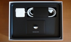 2013 MacBook Air Opened Accessories