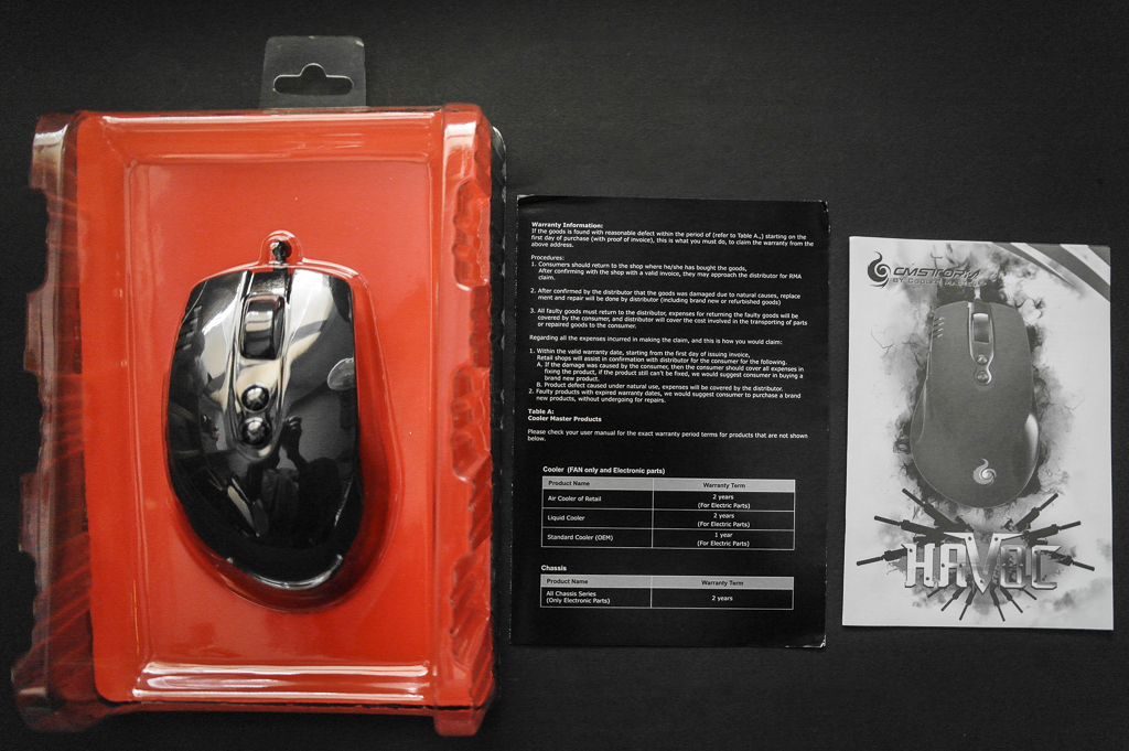 cooler master storm havoc gaming mouse accessories