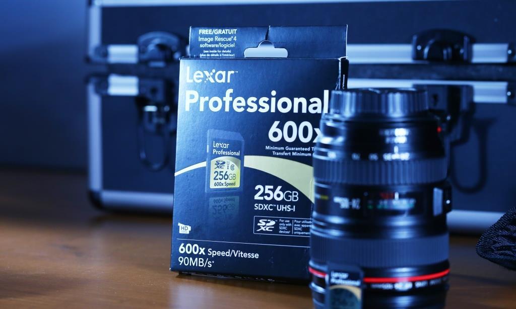 Lexar 600X SDXC 256GB Card