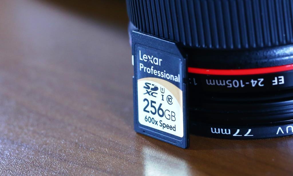 Lexar 600x 256GB SDXC Card