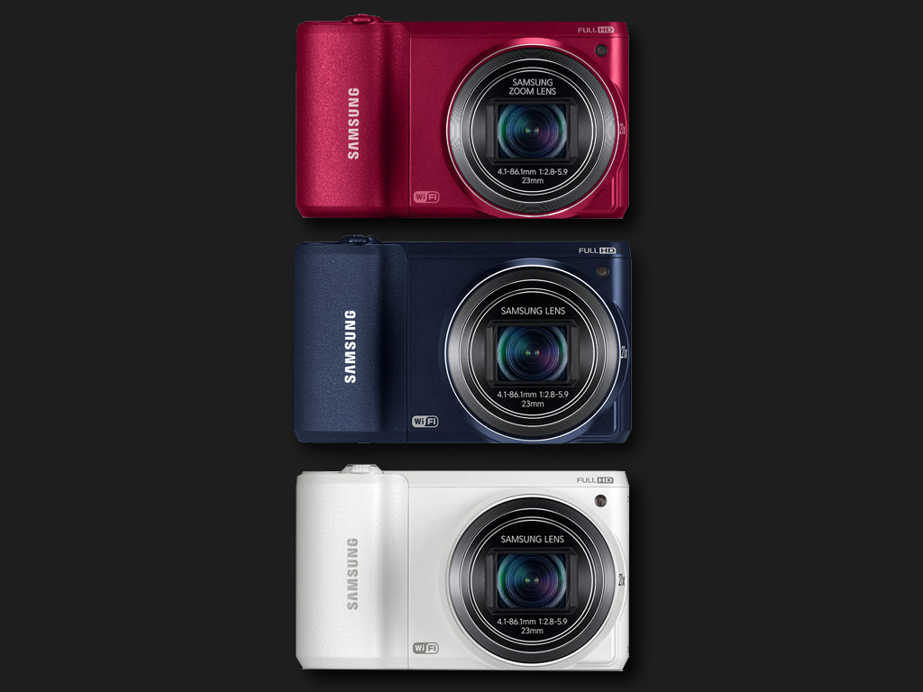 Samsung WB800F Smart Camera colours
