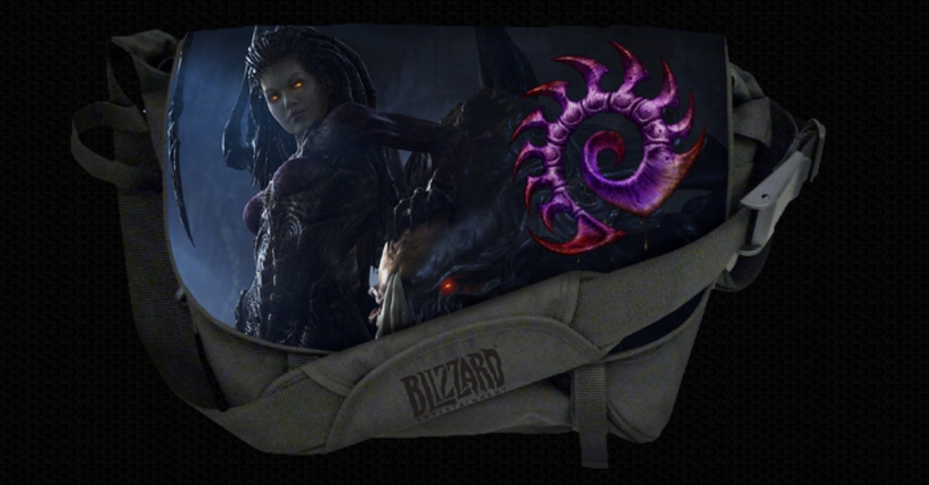 razer zerg messenger bag