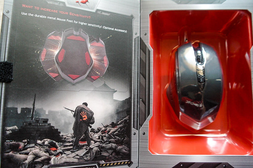A4Tech Bloody Gun3 Headshot V8 Gaming Mouse ultra core 3